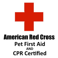Certified in Pet First Aid & CPR
