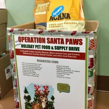 6th Annual Operation Santa Paws Holiday Pet Food & Supply Drive