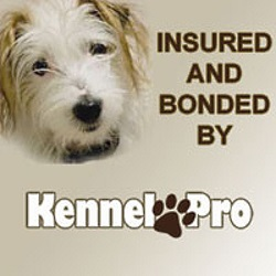 Insured & Bonded by Kennel Pro